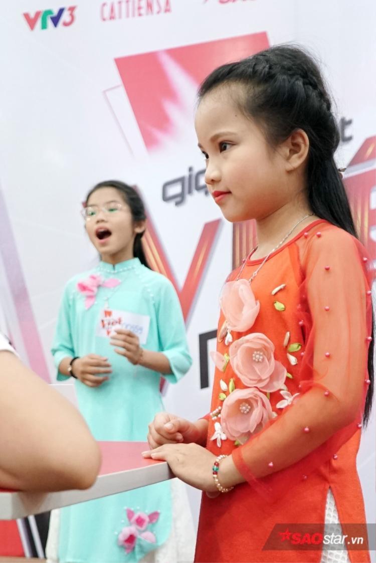 Những gương mặt ấn tượng trong buổi tuyển sinh khu vực Hà Nội.