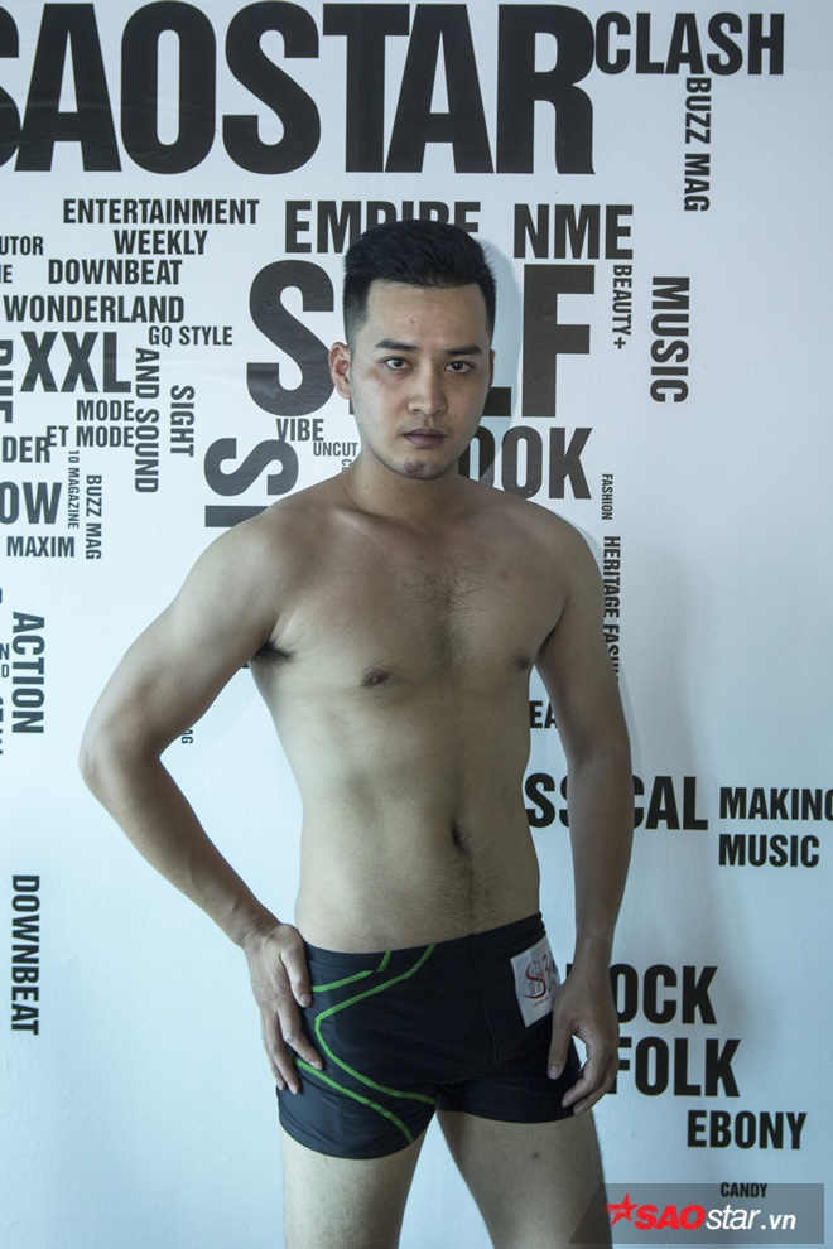 Tham gia chương trình Siêu mẫu Việt Nam lần này, Hoàng một lần nữa muốn thử sức và thể hiện đam mê với nghề người mẫu.