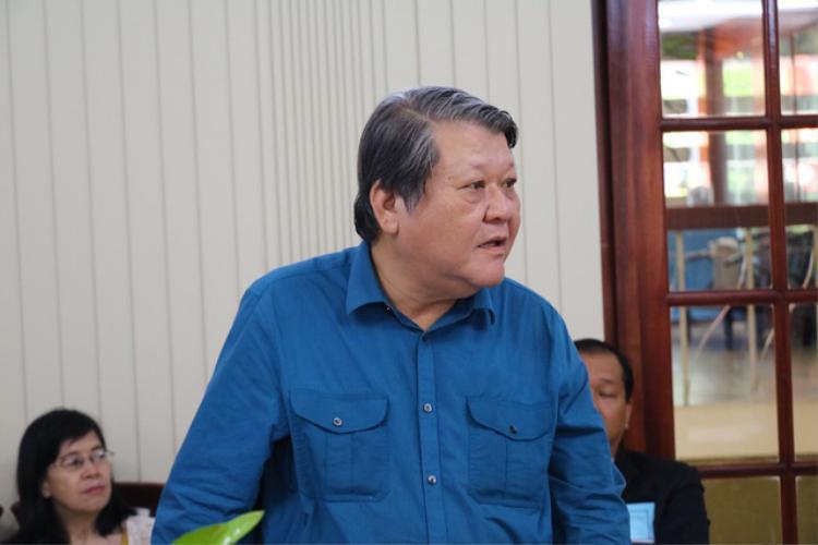Ông Trần Anh Tuấn, Phó giám đốc Trung tâm dự báo nhu cầu nhân lực và thị trường lao động TPHCM góp ý kiến cho vấn đề chuẩn bị nguồn nhân lực cho cách mạng 4.0