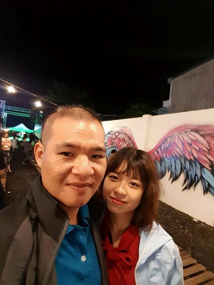 Ngay lần đầu tiên gặp gỡ, trái tim Nguyễn Hùng đã bị chinh phục hoàn toàn bởi vẻ đẹp hiền dịu cùng sự chân thành của Lê Kiều. Anh đã rất muốn thổ lộ tình cảm của mình với cô gái. Ảnh: NVCC.