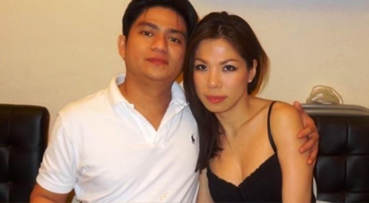 Bác sĩ Chiêm Quốc Thái và bà Vũ Thụy Hồng Ngọc lúc còn mặn nồng.
