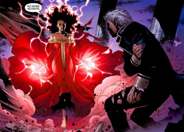Khi X-Men sáp nhập Marvel, Scarlet Witch có thể sẽ xưng trùm vũ trụ
