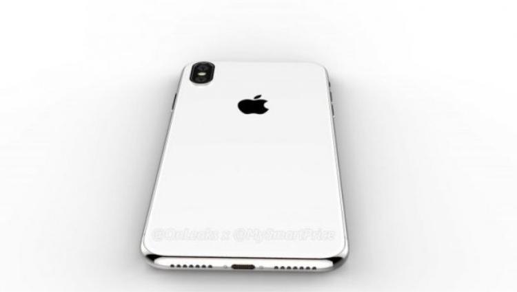 Thiết kế được cho là của iPhone X Plus rò rỉ gần đây.