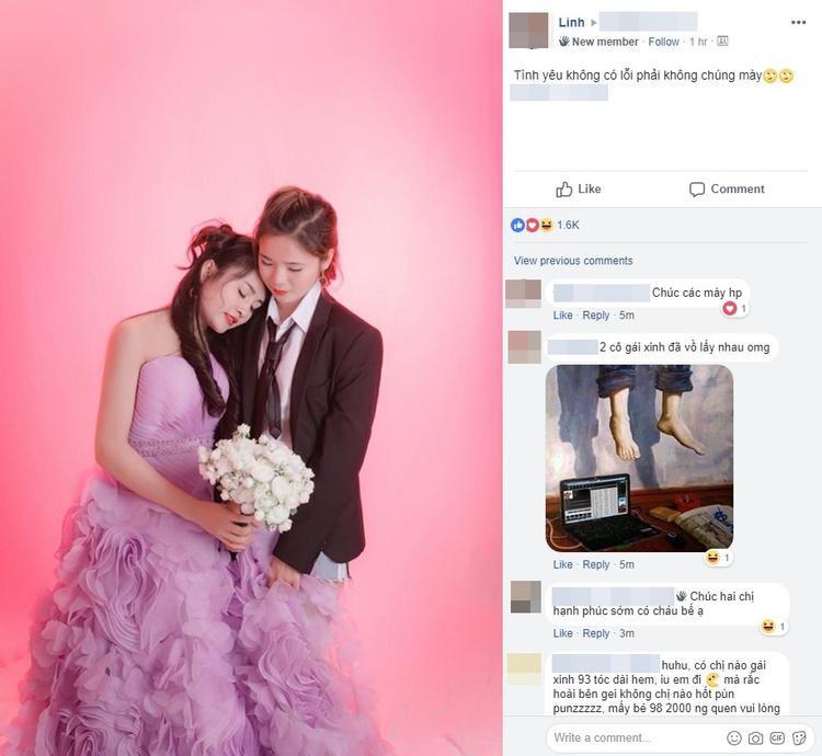 Chia sẻ của Ngọc Linh trên mạng xã hội - Ảnh chụp màn hình.
