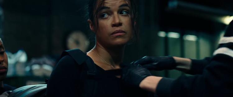 Ngôi sao hành động Michelle Rodriguez là cú chốt hạ đảm bảo cho một Widows đầy kịch tính và nghẹt thở.