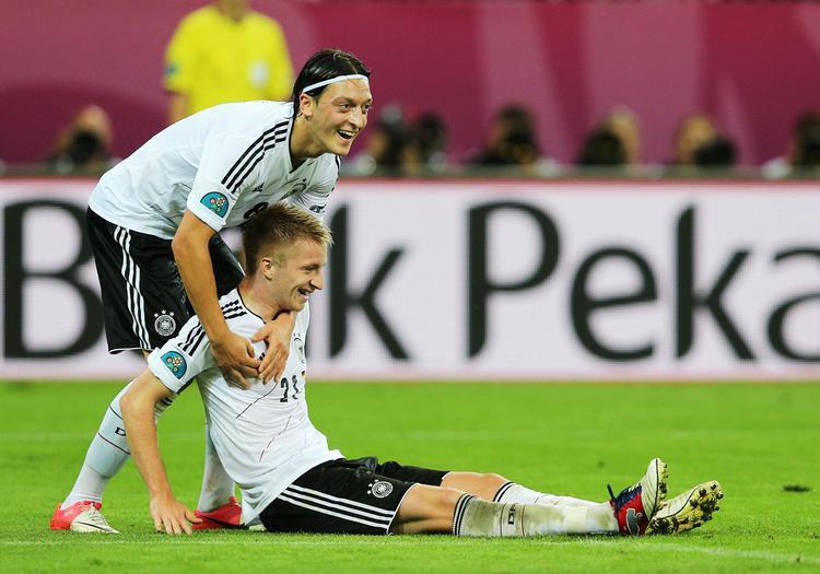 Sau Euro 2012, Marco Reus phải chờ đến 6 năm để dự kỳ World Cup cuộc đời cùng tuyển Đức.