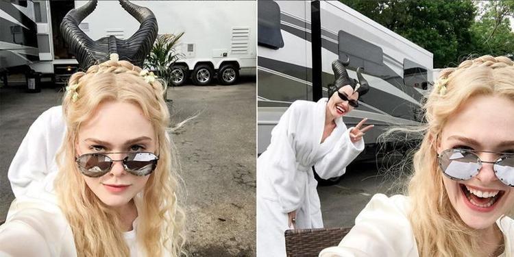 Rạng rỡ ngày sinh nhật: Angelina Jolie rời phim trường Maleficent 2 dẫn con đi chơi công viên giải trí