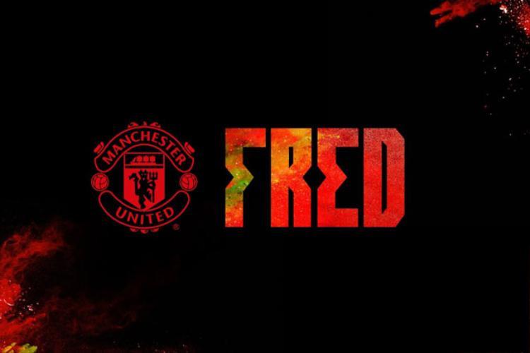 Thông báo chiêu mộ Fred của trang chủ Man United.