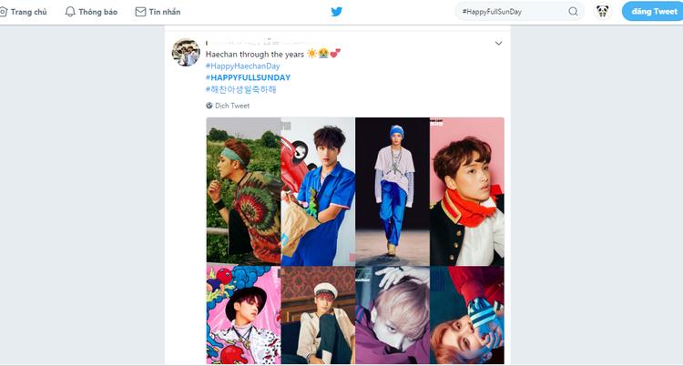 Từ khóa 'HappyFullSunDay' đứng thứ 2 top trend Hàn quốc vào lúc 0:30 phút.