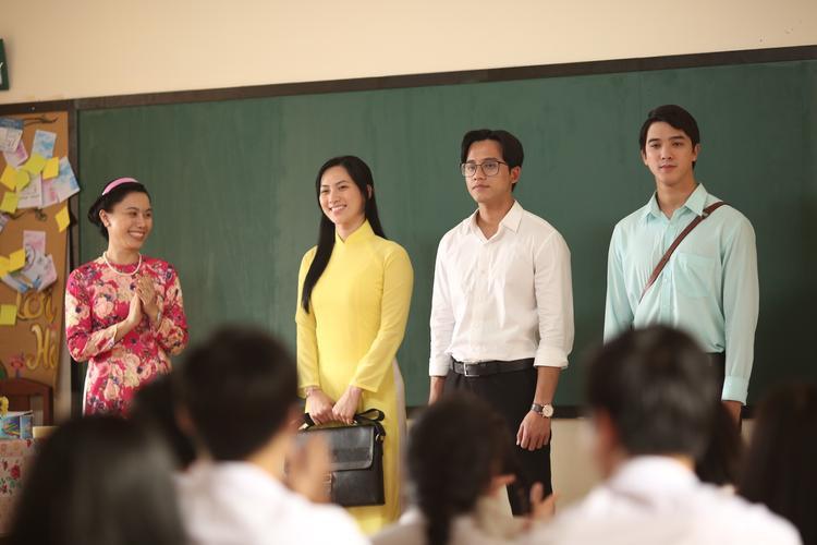 Chuyện tình tay ba giữa thầy Minh Vũ - cô Thảo Ly - thầy Thái Bảo.