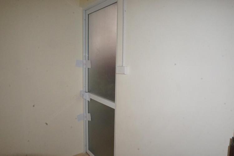 Căn phòng trọ nơi nữ sinh bị sát hại.