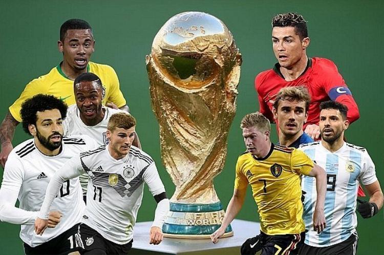 World Cup 2018 chỉ còn 1 tuần nữa là diễn ra.