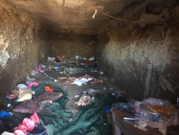 Nơi 112 người di cư sống.
