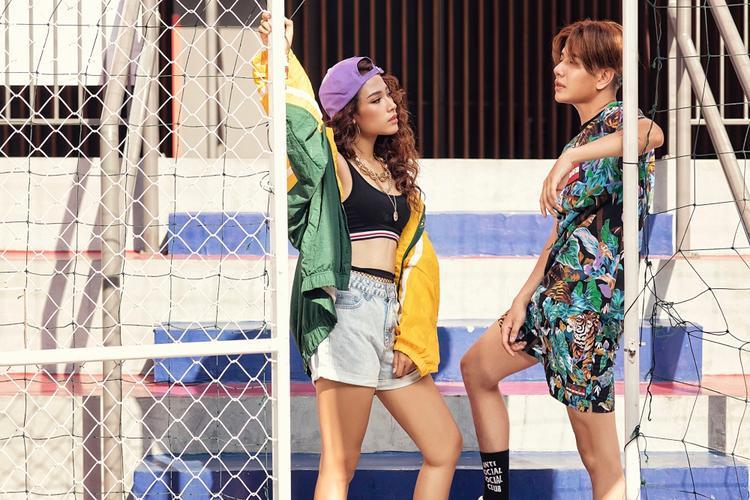 Cặp đôi mới của Vpop: Lou Hoàng mắt nhắm môi chạm Cara trong MV cực chất hè 2018