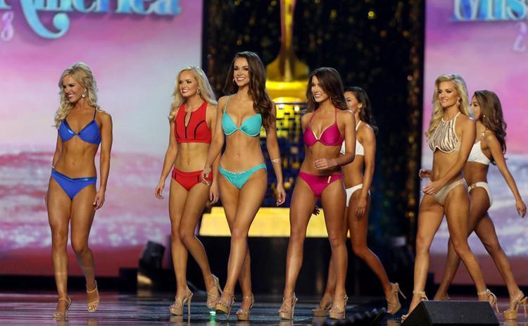 Sắp tới, những phần thi bikini quyến rũ thế này sẽ mất hẳn khỏi sân khấu của Hoa hậu Mỹ.