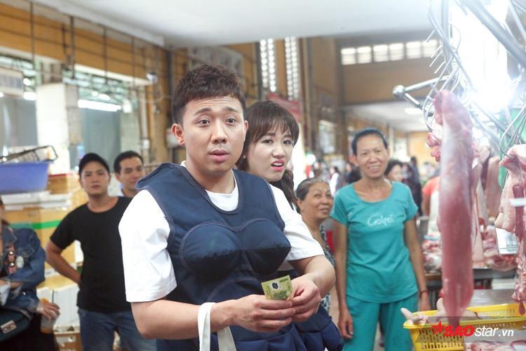 Trấn Thành - Hari đi chợ với 100 nghìn đồng.