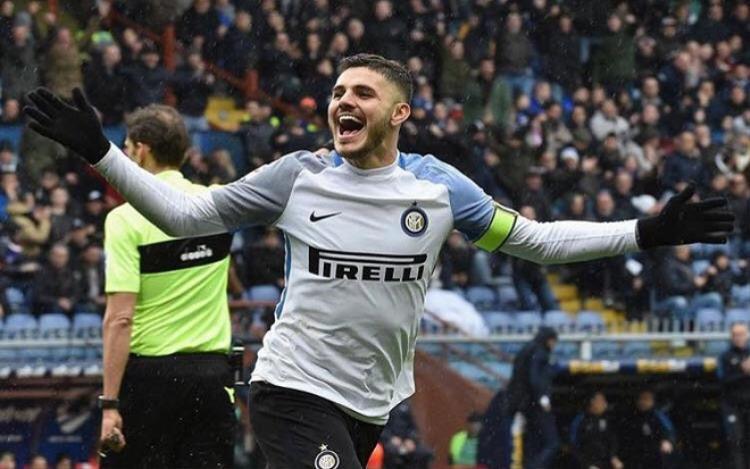 Icardi sở hữu thành tích ghi bàn đáng nể tại Serie A.