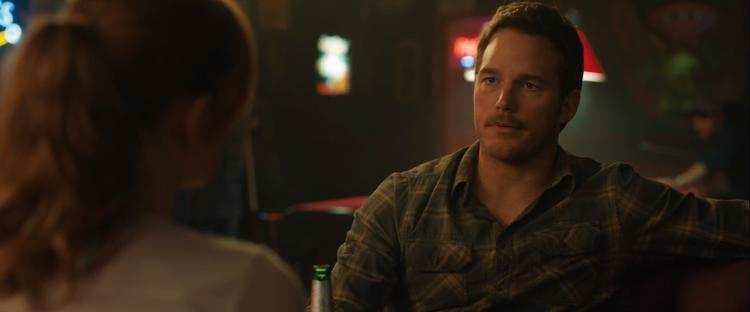 Nhân vật chính Owen Grady cũng không bỏ lỡ cuộc vui.