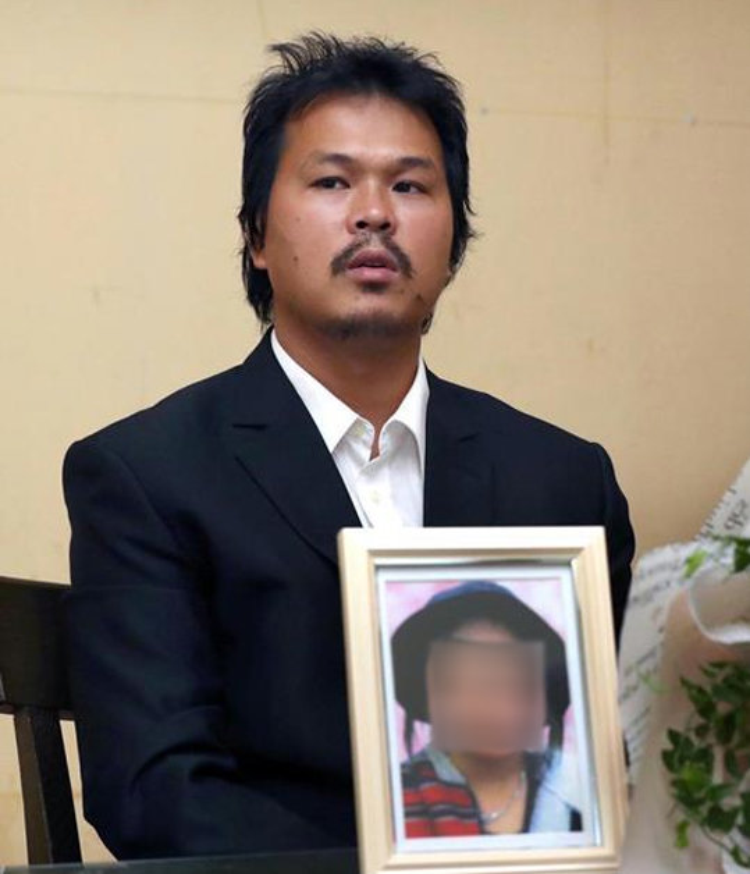 Anh Lê Anh Hào, bố của bé Nhật Linh.