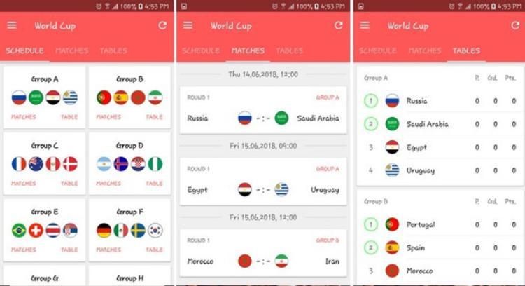 5 ứng dụng giúp ăn ngủ cùng World Cup 2018 mà bạn nên cài