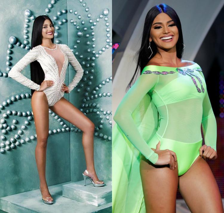 """Vẻ đẹp đậm chất La tinh của cô luôn để lại nhiều ấn tượng với người đối diện.Một điều đặc biệt khác, tổ chức Miss Venezuela vừa thay đổi ban điều hành mới, trong đó cựu Hoa hậu Hoàn vũ 2013 - Gabriela Isler - đảm nhận vai trò đào tạo thí sinh thi quốc tế. Kết hợp nhan sắc nổi bật cùng sự huấn luyện từ """"đàn chị"""",Sthefany hứa hẹn trở thành đối thủ đáng gờm nhất của cuộc thi năm nay."""