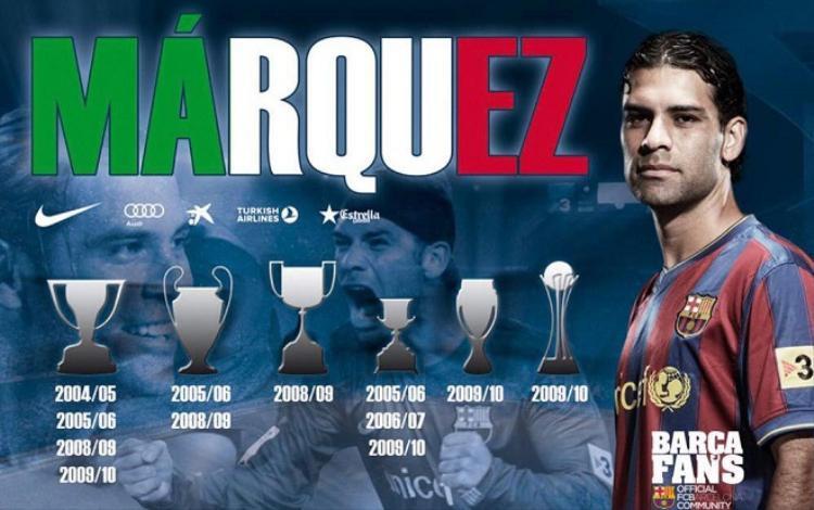 Marquez giành vô số danh hiệu cùng Barca