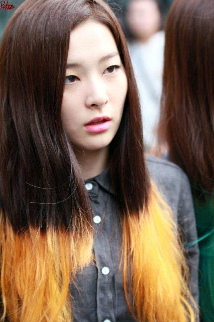 Làn da mịn màng của Seulgi.