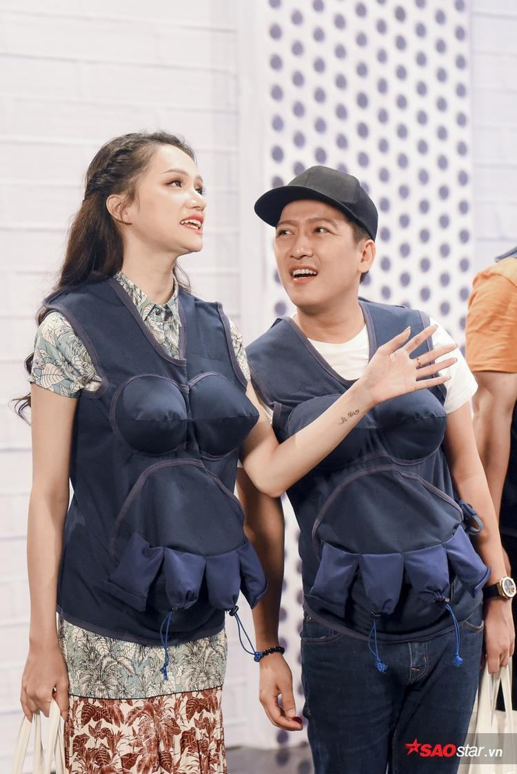 Hương Giang là nhân vật tâm lý nhất tại Khi đàn ông mang bầu.