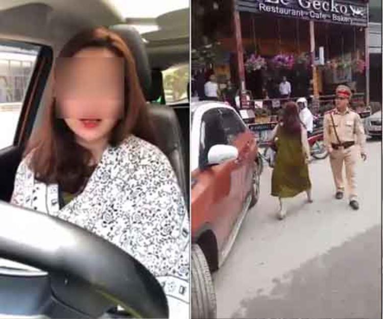 Nữ tài xế đã có những hành động khiến nhiều người bất ngờ được chia sẻ trên mạng xã hội trước đó. Ảnh: Đất Việt.