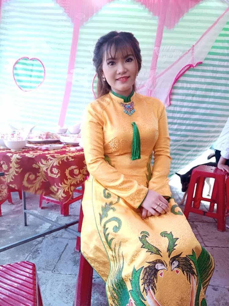 Cô dâu Lê Ngọc Thúy.