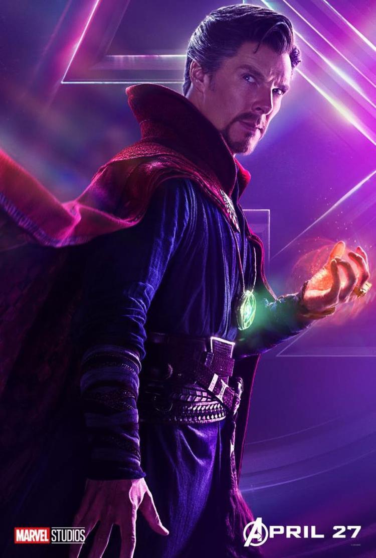 """Vai diễn """"Bác sĩ"""" Strange được thể hiện vô cùng thành công bởi Benedict Cumberbatch."""