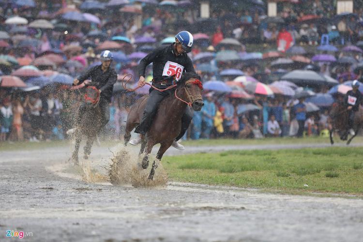 Trải qua vòng đấu gay cấn, đầy kịch tính cuối cùng ở cự ly 1.900 m, nài ngựa Vàng Văn Sinh đến từ xã Na Hối (Bắc Hà - Lào Cai) đã xuất sắc bứt phá lên dẫn đầu để giành giải nhất. Cán đích tiếp theo là các nài ngựa Giàng Seo Vư và Giàng Seo Dung.
