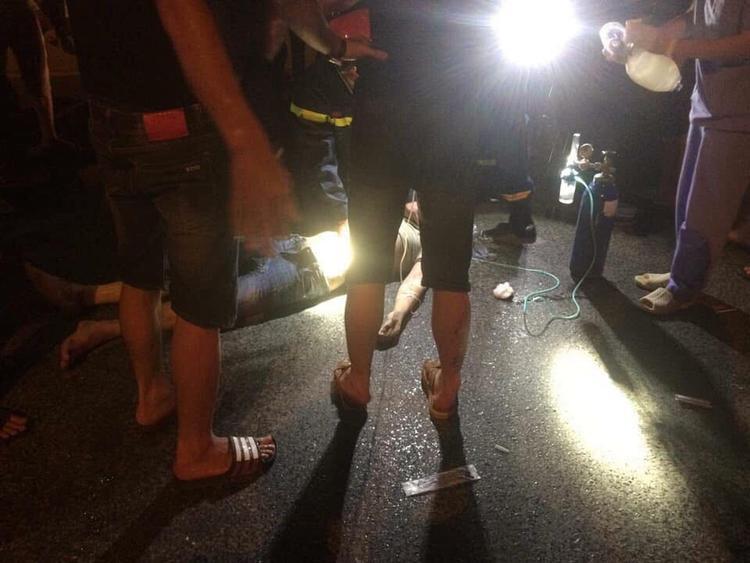 Vụ việc khiến 2 nam thanh niên bị thương nặng.