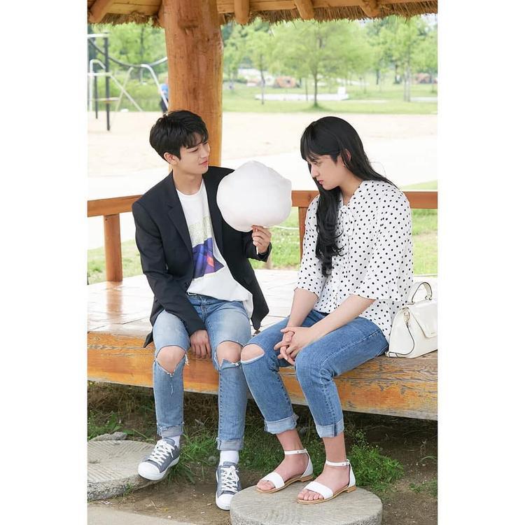 Tình yêu kẹo bông của Chanwoo.