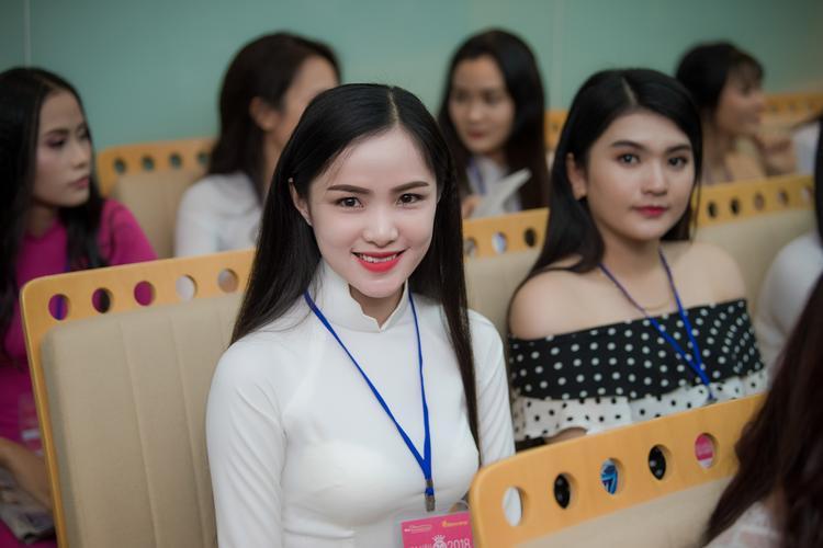 Dàn thí sinh nổi bật tại Hoa hậu Việt Nam 2018.
