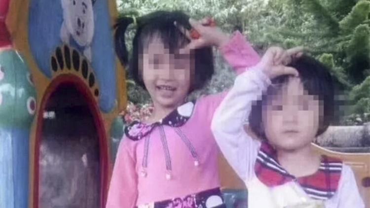 Hai bé gái bị chính cha ruột sát hại. Ảnh: News.163.com