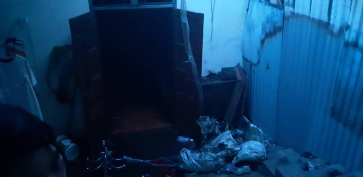 Cháy xưởng sản xuất đồ gỗ, 4 người trong nhà nháo nhào tháo chạy