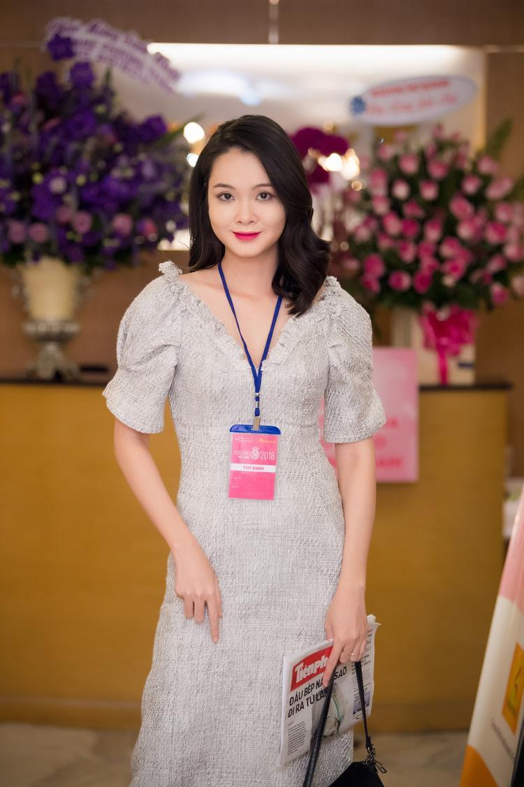 Thí sinh Nguyễn Thuỳ An.