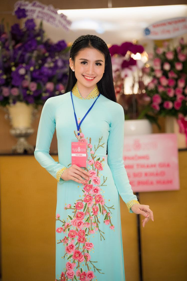 Thí sinh Trương Thị Thanh Bình.