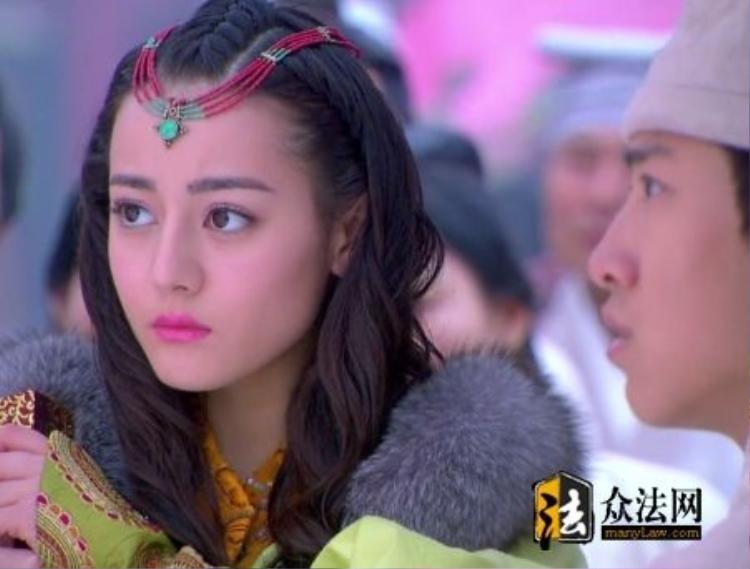 """Địch Lệ Nhiệt Ba vào vai Lâu Lan công chúa trong """"Ban Thục truyền kỳ"""""""