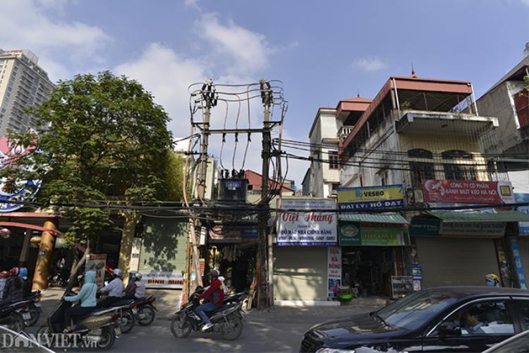 """Ở Hà Nội hiện đang tồn tại hàng trăm trạm biến áp nằm sát khu dân cư, mặc dù các trạm biến áp có dòng chữ """"Cấm sờ nguy hiểm có điện chết người"""" hay """"Cấm trèo điện áp cao nguy hiểm"""" nhưng nhiều hộ dân vẫn liều mình mưu sinh ngay cạnh đó."""