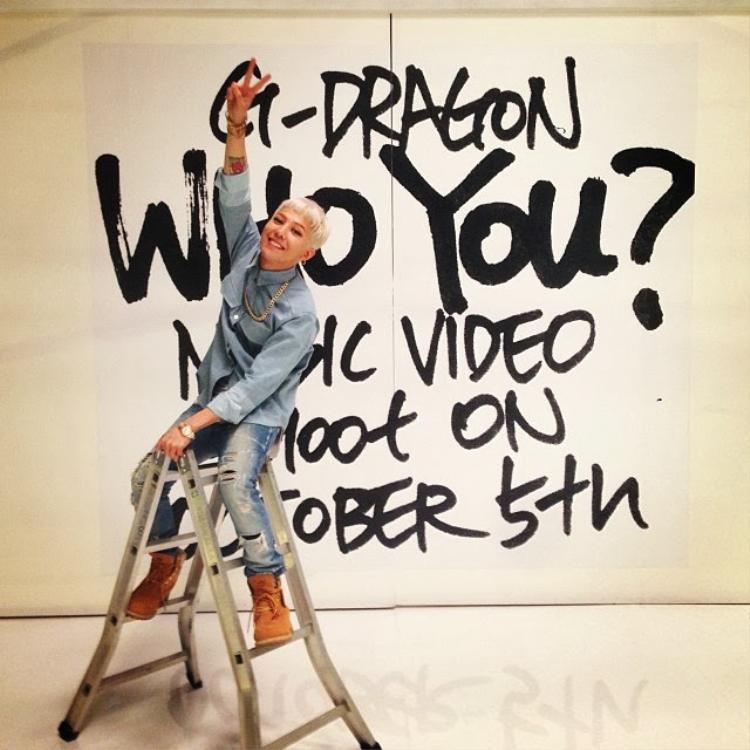 Who You? được G-Dragon phát hành dành tặng riêng cho V.I.P năm 2013.