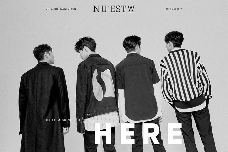 4 chàng trai Nu'est W không xuất hiện trong teaser ngắn này.