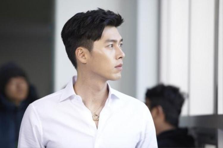 Góc nghiêng thần thánh của Hyun Bin.