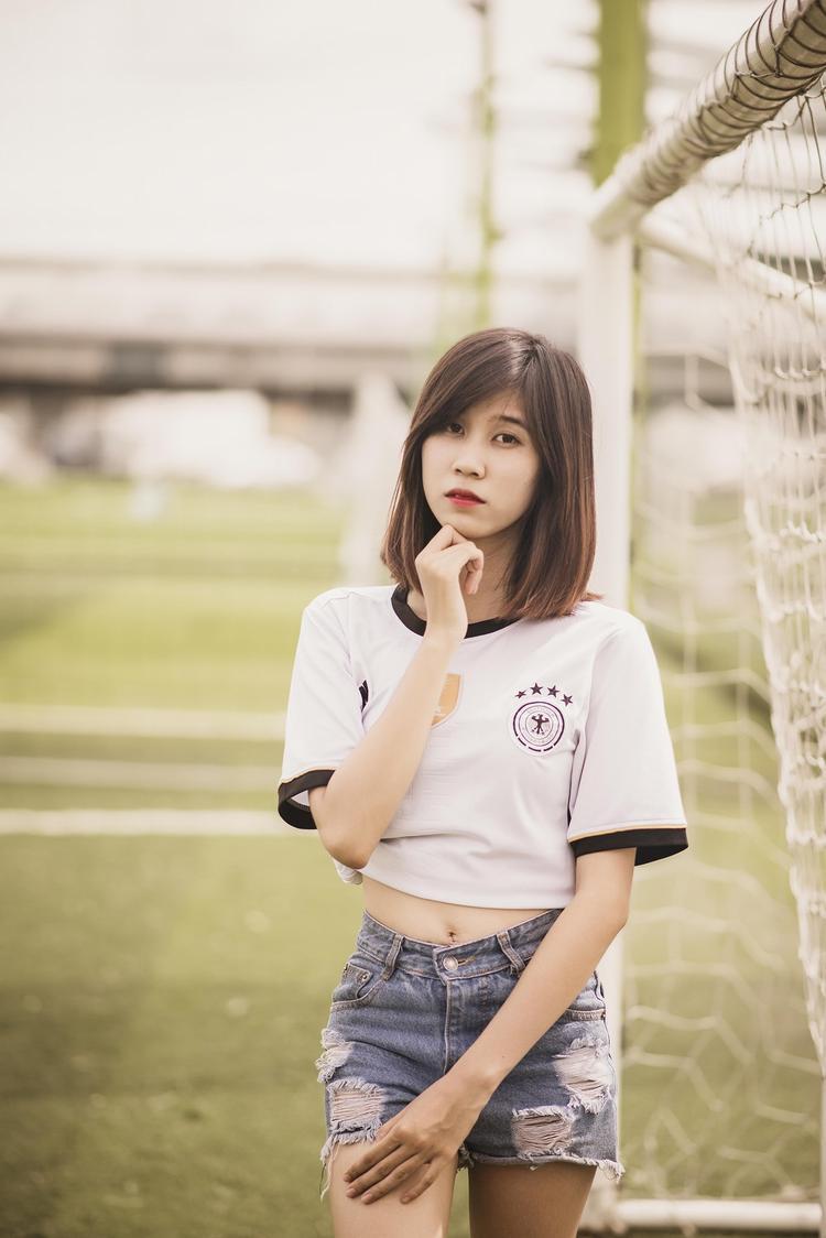 Kim Huệ cuồng tuyển Đức và CLB Arsenal.