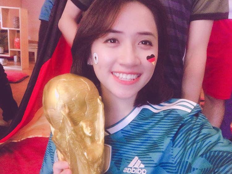 Vương Tử Quyên tin tưởng tuyển Đức lần thứ 5 vô địch thế giới ở năm nay.