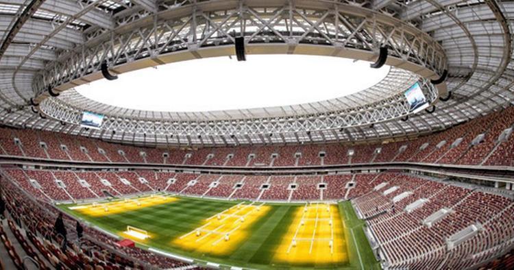 Sân vận động Luzhniki là nơi diễn ra hai trận đấu quan trọng nhất của VCK World Cup năm nay: trận khai mạc và trận chung kết.