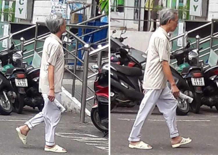 Hình ảnh được cho là ông Nguyễn Khắc Thủy hoàn toàn khỏe mạnh vào sáng 9-6.