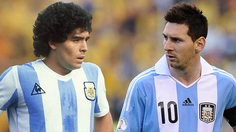 Maradona là nỗi ám ảnh của Messi