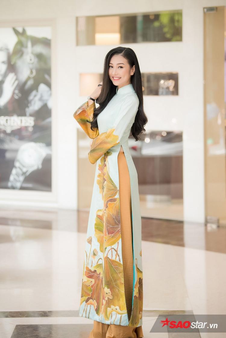 Top 10 Hoa hậu Việt Nam 2016 Bùi Nữ Kiều Vỹ.